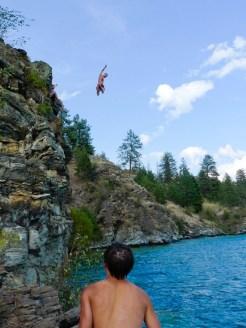 Travis Collier, method jump.