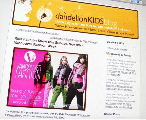 A feature article about Vancouver Fashion week on the DK blog.