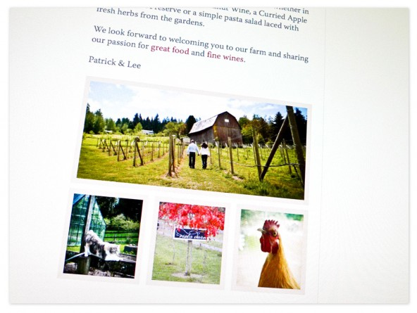 Vista D'oro Farms and Winery website