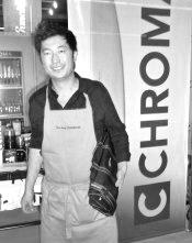 Pierre Sang Boyer, un ancien de Top Chef à qui Kurouchi va comme un gant