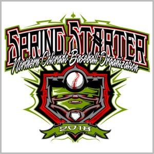 Spring Baseball Tournament Shirt Design