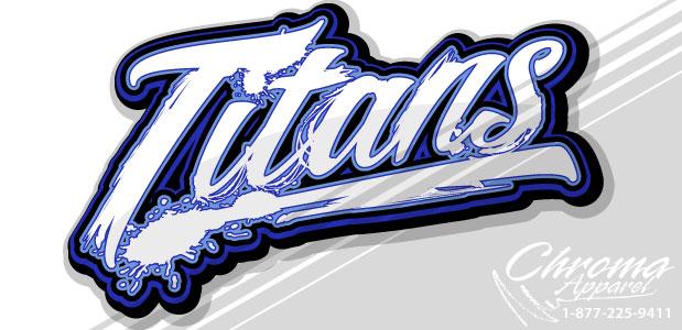 Titans Logo - Distressed