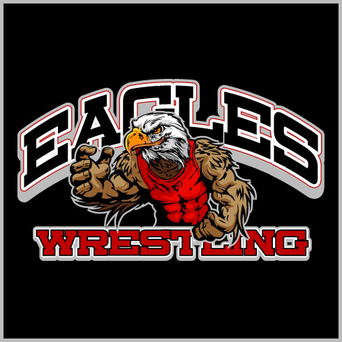 Eagle wrestling shirt see why this is eagle wrestling for Wrestling tournament t shirt designs