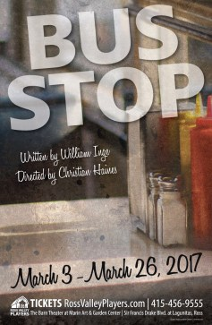 Bus Stop Poster - Ross Valley Players
