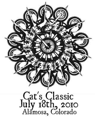 ChromaKit Graphic Design Cat's Classic 2010 t-shirt design