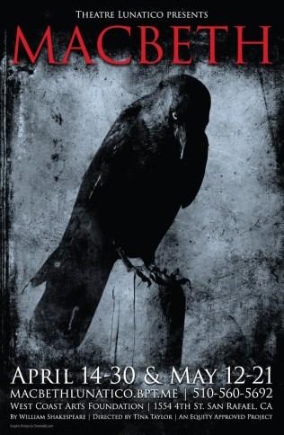 Macbeth Poster - Theatre Lunatico