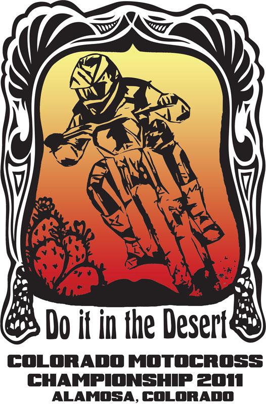 ChromaKit Graphic Design Colorado State Championship T-Shirt Design 2011
