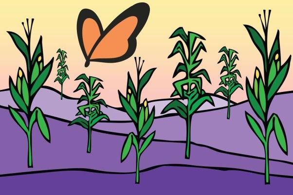 ChromaKit Graphic Design Good Earth Non-GMO Endcap Display
