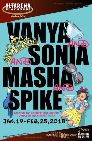Vanya and Sonia and Masha and Spike - Altarena Playhouse