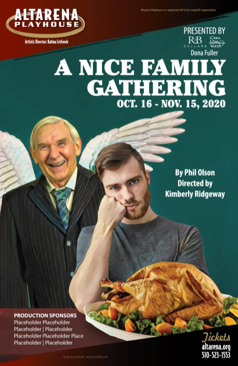 A Nice Family Gathering Poster - Altarena Playhouse