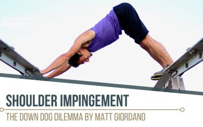 3 Steps to Avoid Shoulder Impingement in Downward Dog with Matt Giordano