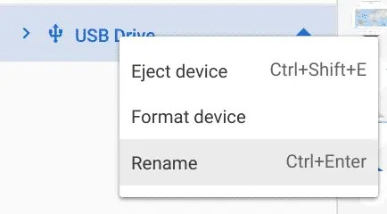Eject or Format External Devices