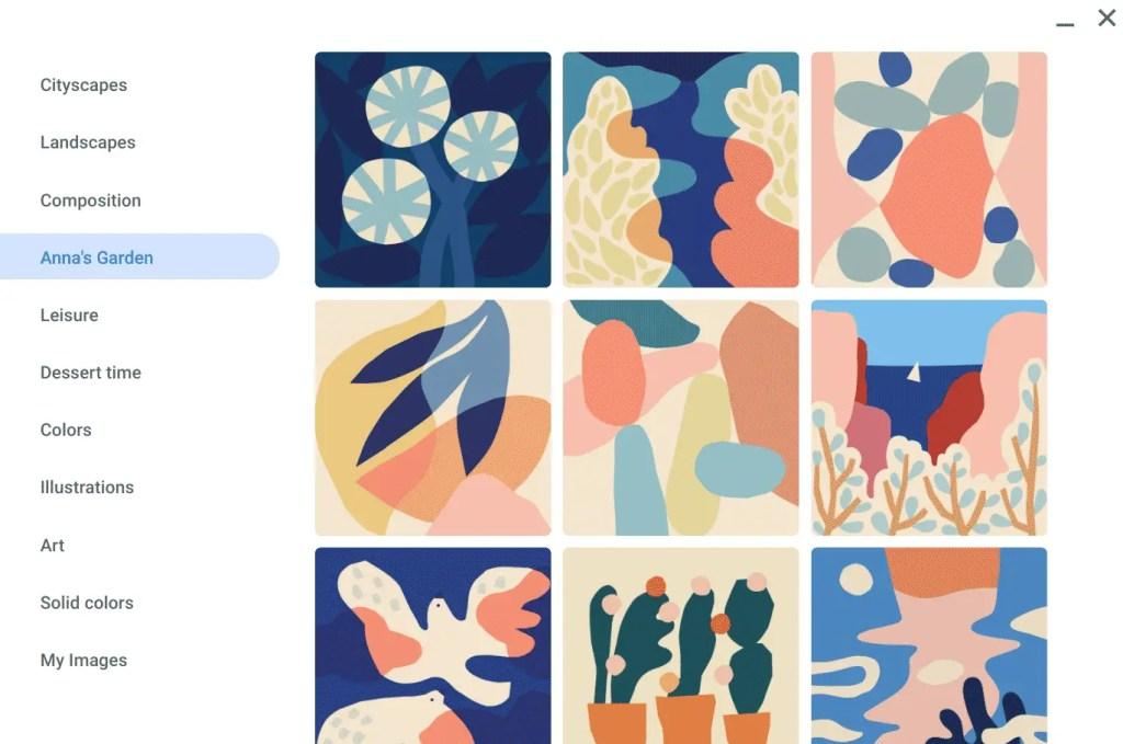 """""""Anna's Garden - Chromebook Wallpapers"""