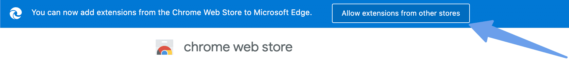 Edge install Chrome theme