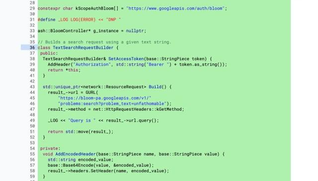 Chrome Source Code - Bloom
