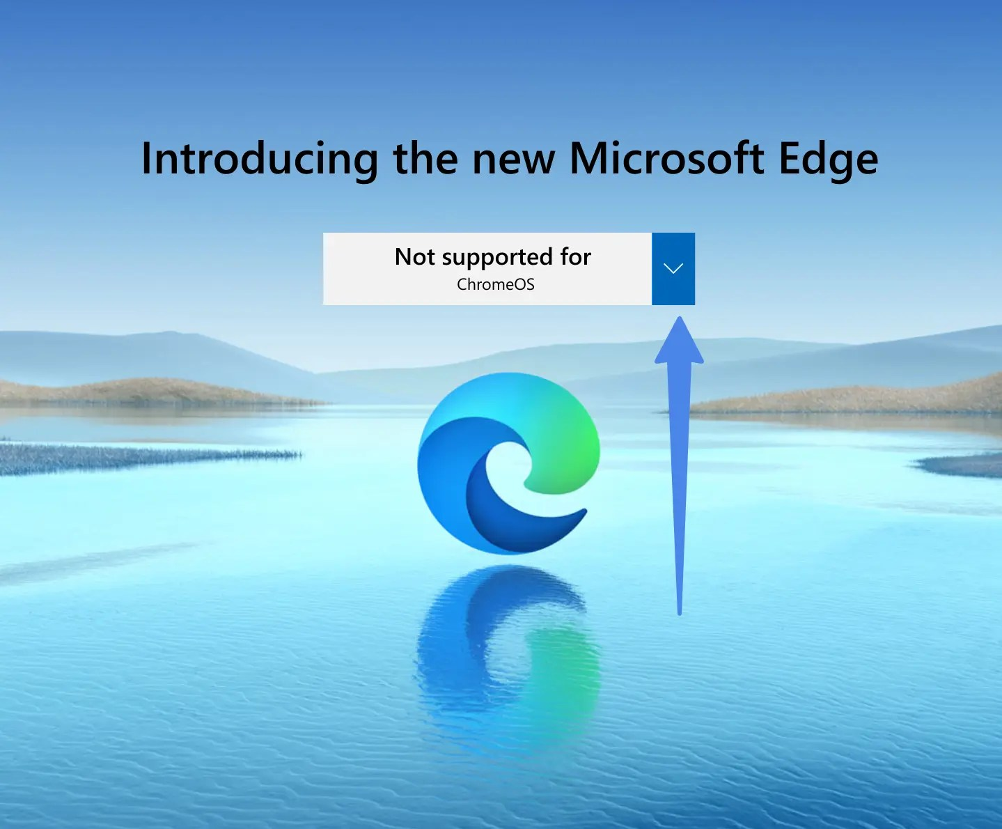 Select OS to download Edge