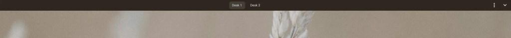Persistent Deskbar on Chromebook