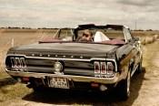 Mustang Hochzeitsauto