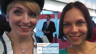 Blogger Challenge JFK Viktoria Urbanek