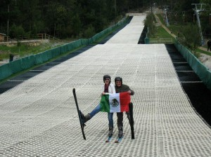 Skiing in Mexico