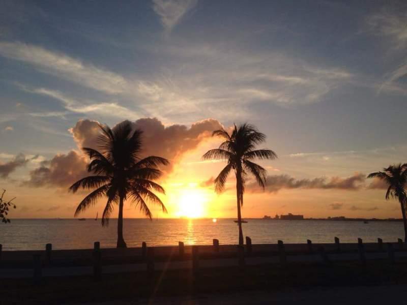Sunset Cozumel