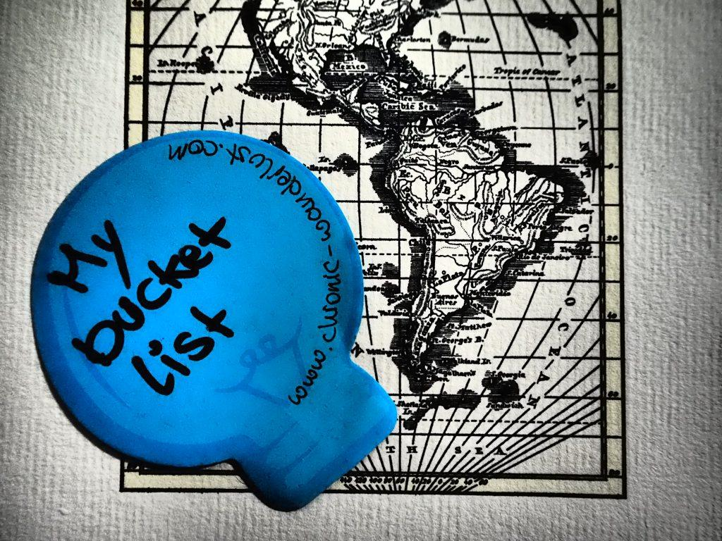 adventure bucket list chronic wanderlust