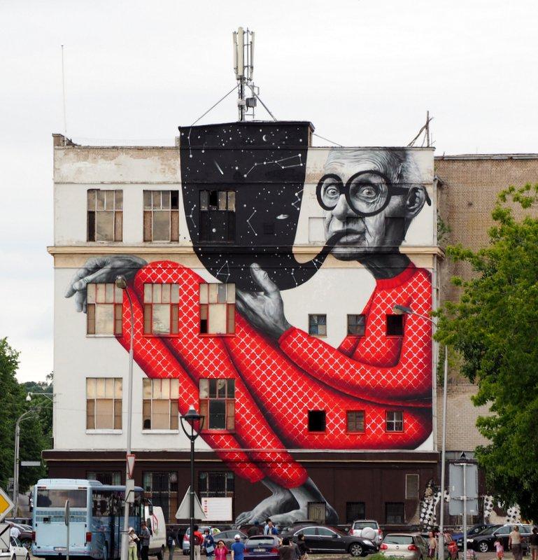Kaunas, Street Art Lithuania