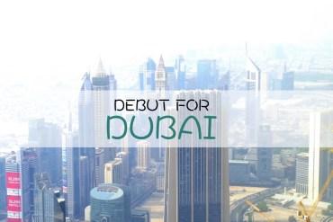 Debut for Dubai