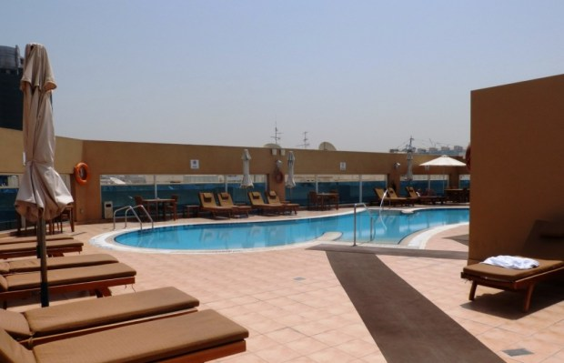 Four Points by Sheratown Downtown Dubai pool area 2