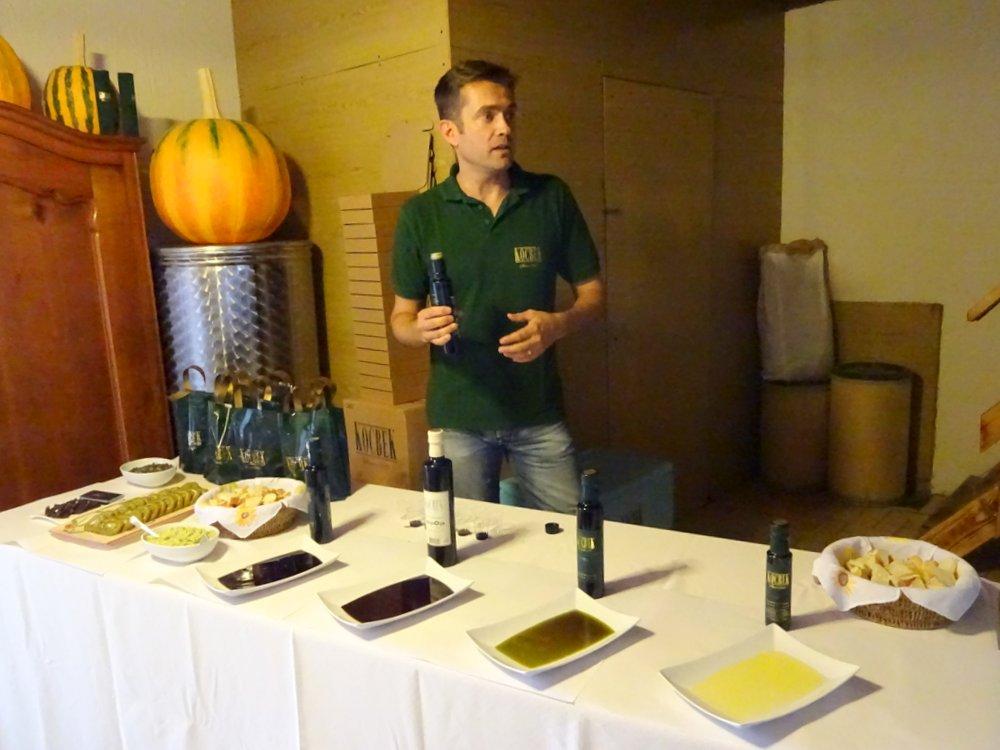 pumpkin seed oil manufacture Kocbek