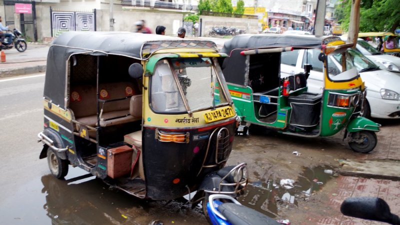 Tuktuk India New delhi