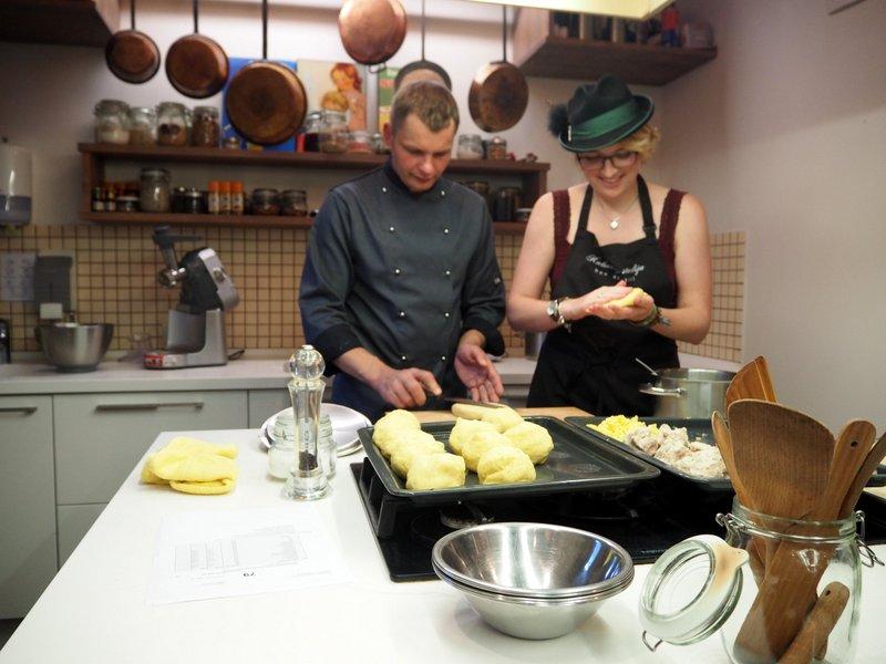 Cepelinai cook