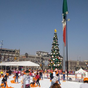 Ice Skating Mexico City