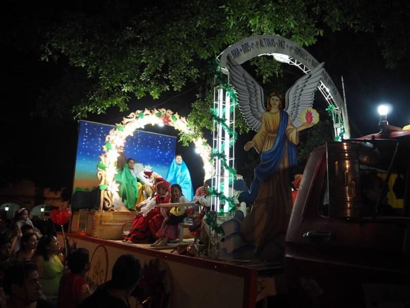 Christmas in Oaxaca Mexico