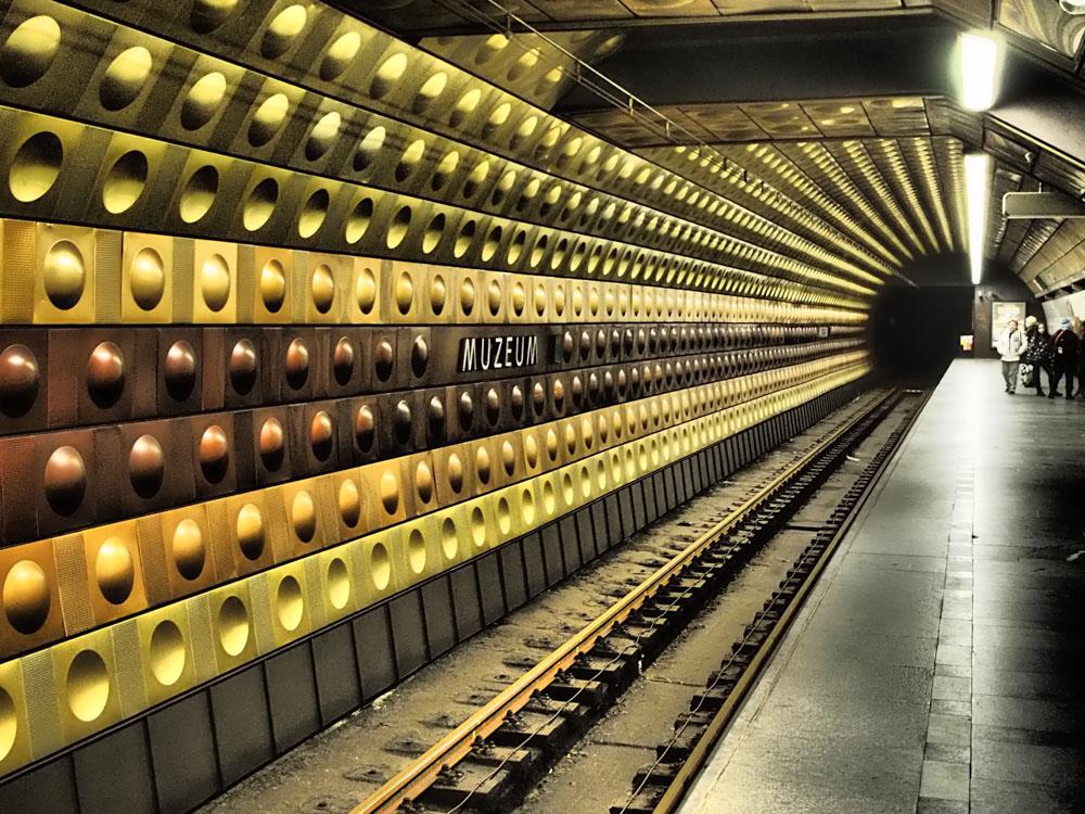 Prague Metro nespresso capsules