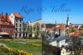 How much are 7 days in Riga and Tallinn