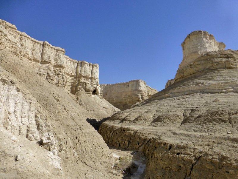 Wüstentour nahe des Toten Meeres