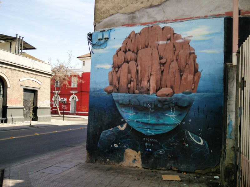 Barrio Brasil Yungay Santiago Street Art