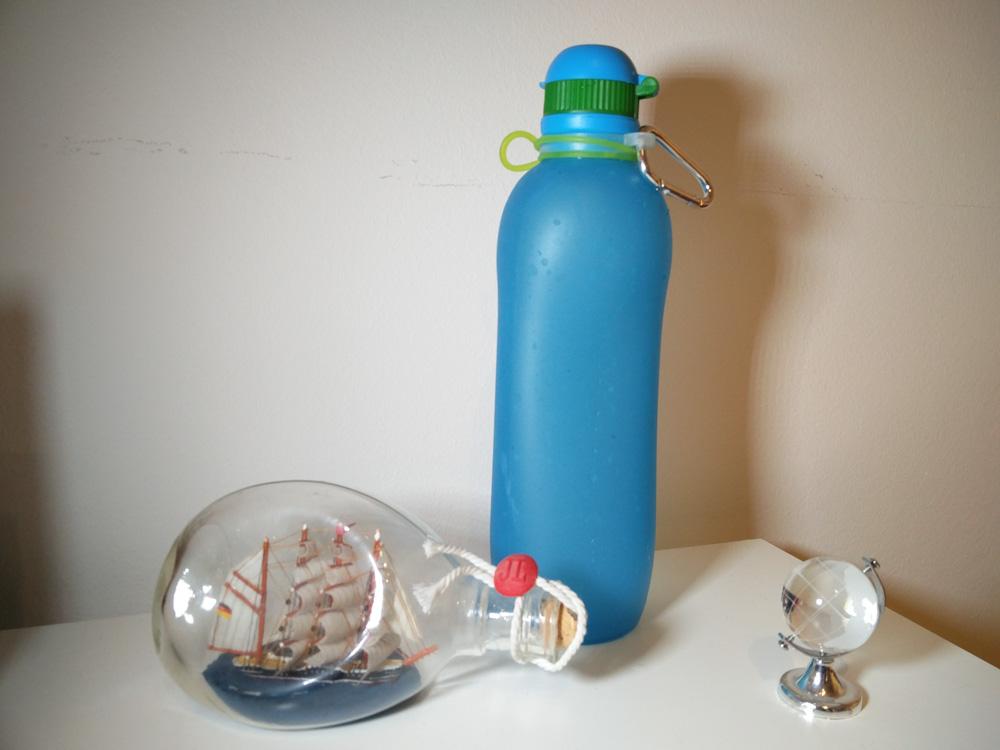 Trinkflasche faltbar silikon