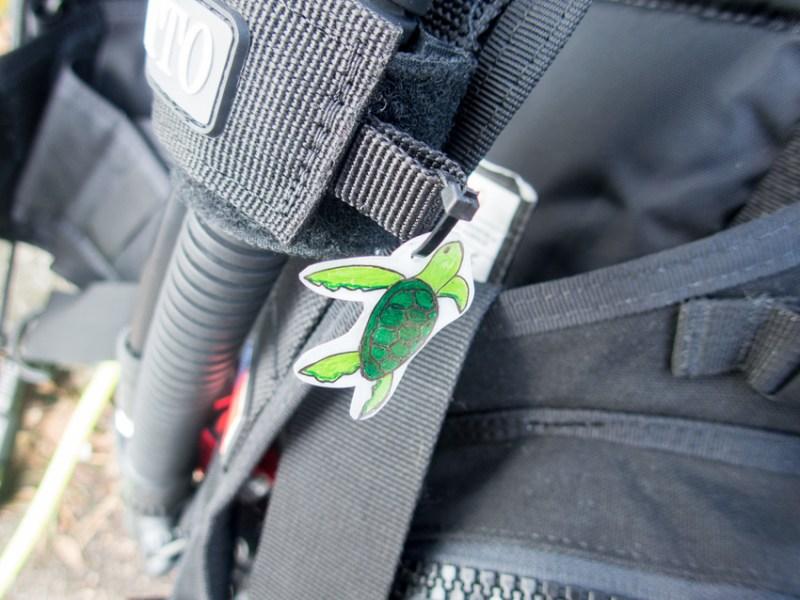 Geschenke für Taucher Schlüsselanhänger Markierung Tauchequipment