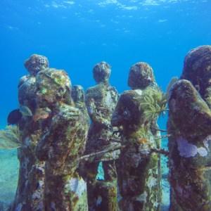 musa unterwassermuseum isla mujeres