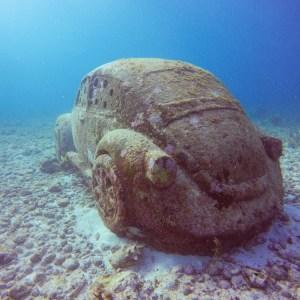 musa unterwassermuseum isla mujeres volkswagen