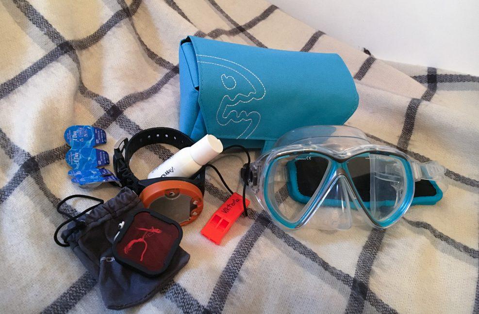 tauchbrille tascherl iq