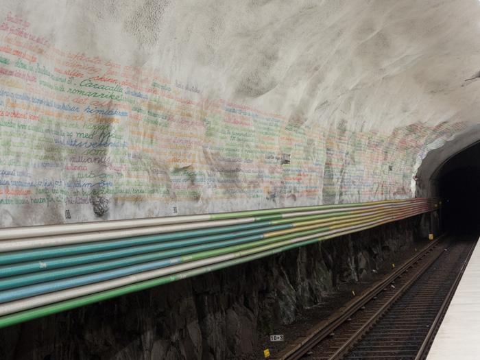 Rissne Metrostation Stockholm