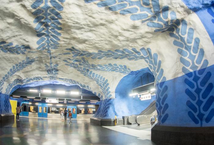 T-Centralen Metrostation Stockholm