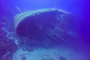 Hilma Hooker Wreck – a creepy dive spot on Bonaire