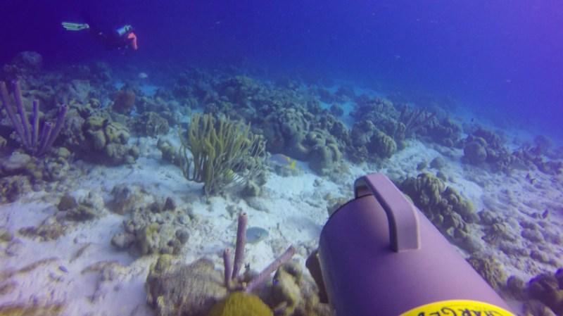 Unterwasserscooter Bonaire