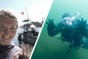 Learning Diary diving with a Dry Suit + helpful Tips