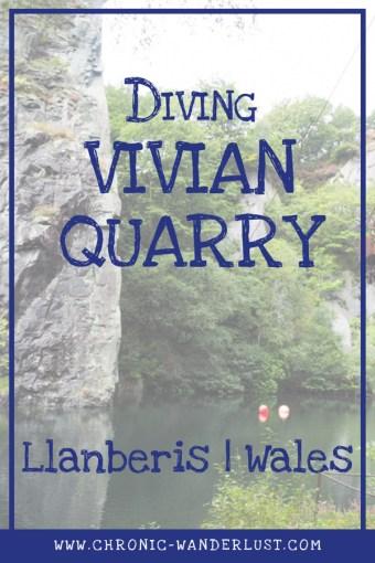 Vivian Quarry Diving Llanberis Wales Pinterest