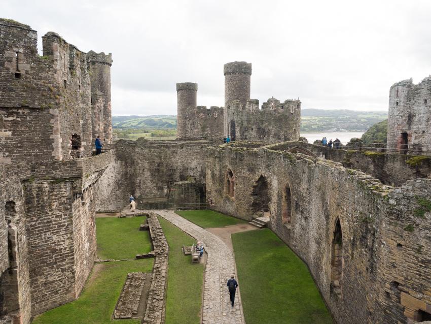 Wales Conwy Festung